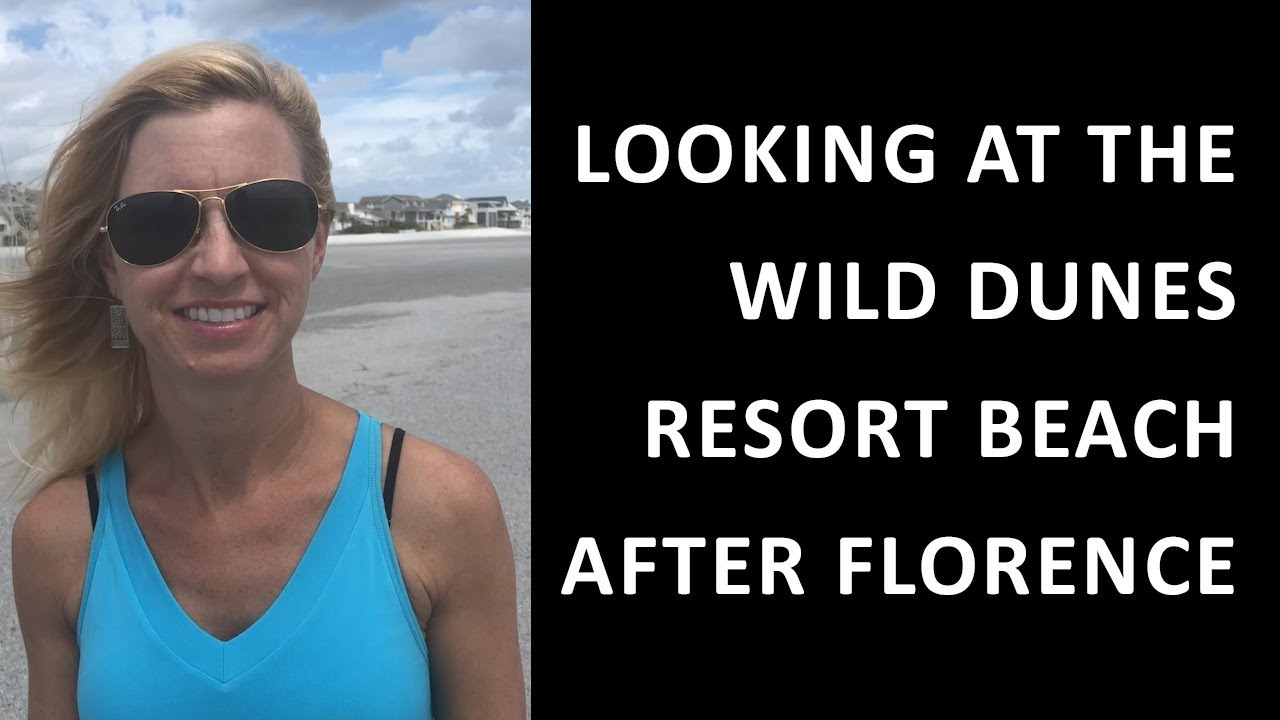 What Does the Beach at Wild Dunes Resort Look Like After Florence?