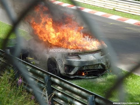 ring - The 2016 Acura NSX is spied testing at the Nürburgring and burns to the ground the next day, we drive the 2015 Dodge Challenger SRT Hellcat and learn why that engine won't end up in the...