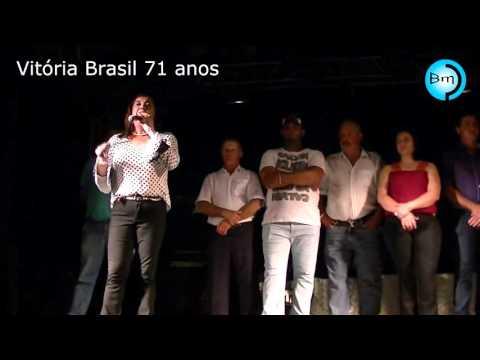Vitória Brasil comemorou 71 anos com muita festa neste sábado dia 19.