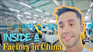 Inside a household appliances factory