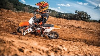 8. 2017 KTM 50 SX | For young MX riders