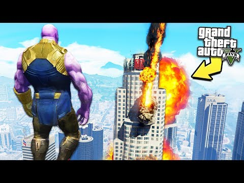 GTA 5 - *INSANE* Thanos Powers!!