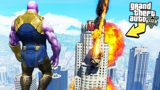Video GTA 5 - *INSANE* Thanos Powers!! MP3, 3GP, MP4, WEBM, AVI, FLV Maret 2019
