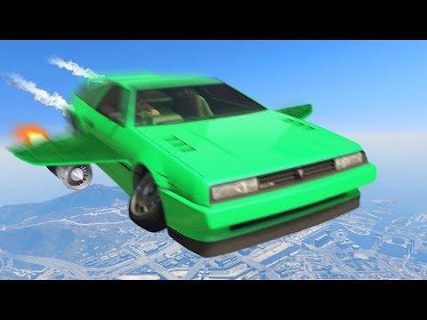 NEW $5,000,000 BACK TO THE FUTURE CAR! (GTA 5 DLC) (видео)