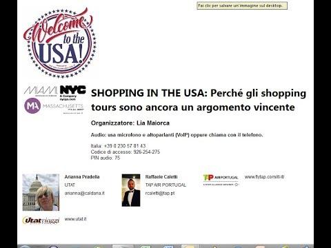 Video SHOPPING IN THE USA: Perché gli shopping tours sono ancora un argomento vincente (21-9-17)