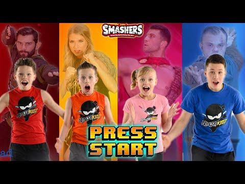 Epic Dino Smashers Ice age! Ninja Kidz