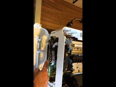 J6480 Printer with broken hinge