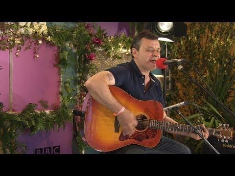 Manic Street Preachers perform Walk MeTo The Bridge in the BBC Music Tepee at Glastonbury 2014
