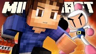MineCraft *NEW* Snapshot Mini Game: EPIC TNT BOMBER MAN!