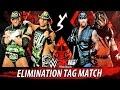 WWE 2K16 - D Genertation X vs Brothers Of Destruction | Elimination Tag Match Gameplay