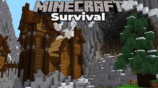I Built an Awesome Castle in Minecraft 1.15 Survival Let's Play
