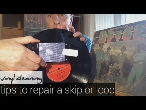 TIPS TO REPAIR A RECORD WITH SKIP OR LOOP - Vinyl Community