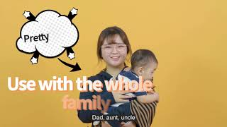 video thumbnail strap-cushion Bib for parents youtube