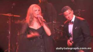 Earth Song - Delta Goodrem and Guy Sebastian @ Michael Jackson's 'This Is It' DVD Launch