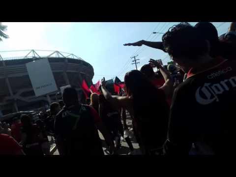 Recorrido de los del Sur | Atlas vs Newells Old Boys | 09.07.16 | Partido del Centenario - Barra 51 - Atlas