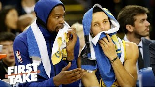 Is Kevin Durant leaving the Warriors for the Knicks? Stephen A. explains | First Take