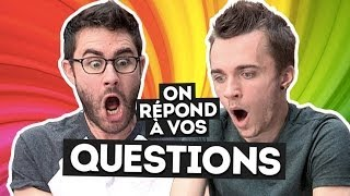 Video On répond à vos questions ! Cyprien Squeezie MP3, 3GP, MP4, WEBM, AVI, FLV November 2017