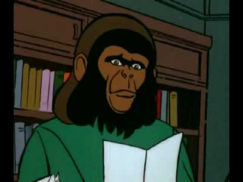Return to the Planet of the Apes (Cartoon) 6