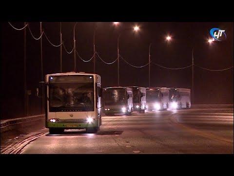 Из Москвы прибыли первые автобусы, которые столица бесплатно передала Великому Новгороду