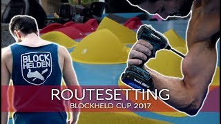 ROUTESETTING | 200 New Problems for the Blockheld Bouldering Cup by BlocBusters