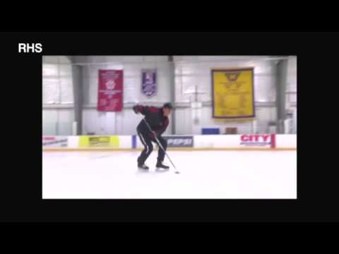 Hockey skills demo from Russia