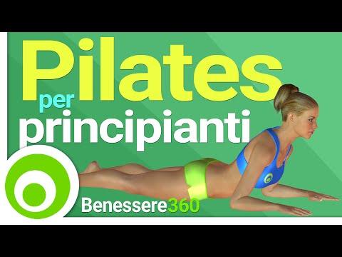 pilates per i principianti - esercizi base per dimagrire e rassodare