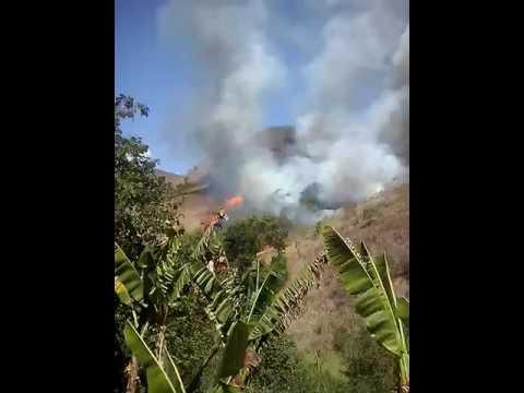 É muito triste ver essas queimadas em Mimoso do sul ES!
