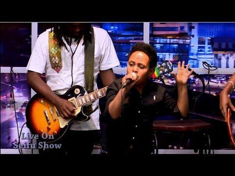 Seifu on EBS: Dawit Alemayehu - Ha Lemene   ሀ ለምኔ Live Performance