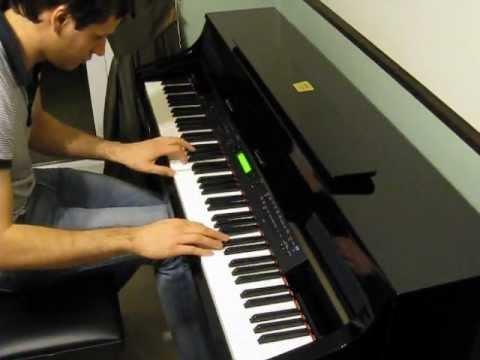 Beyonce - halo piano tutorial (synthesia + sheets + midi)