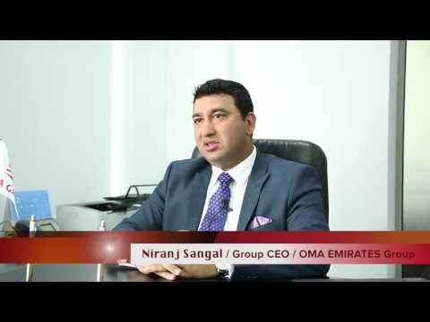 Niranj Sangal, Group CEO - OMA Emirates
