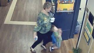 Teacher Knocks Over Child, Get Arrested