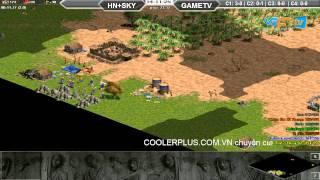 Hà Nội+Skyred vs GameTV C2T2 [03/07/2015], game đế chế, clip aoe, chim sẻ đi nắng, aoe 2015