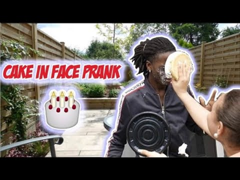 Funny birthday wishes - CAKE IN FACE PRANK ON BIRTHDAY BOY!!! (GONE WRONG)