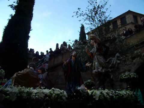 Oración en el Huerto por Arco Dominicos,Semana Santa Salamanca 2013