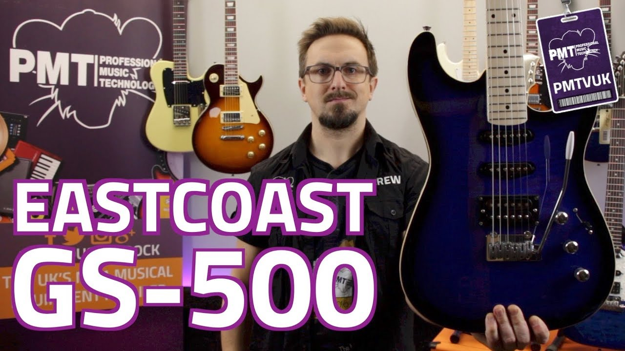 Eastcoast GS500 HSS Electric Guitar – Review & Demo
