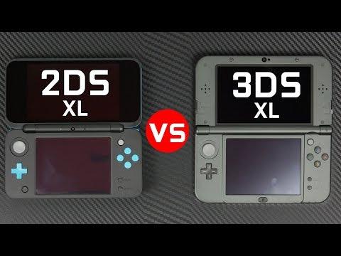 Nintendo 2DS XL vs 3DS XL