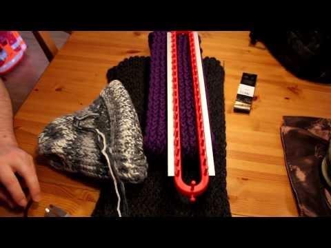 Schal mit Strickrahmen stricken Teil 12/12: Die richtige Wolle wählen