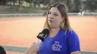 Academia e Escola de Equitação Troá é tema de reportagem na Band