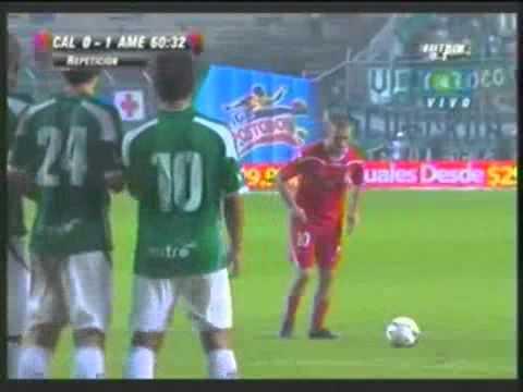Golazo de Jorge Artigas al Deportivo Cali