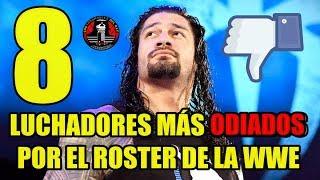 Video LOS 8 LUCHADORES MÁS ODIADOS POR EL ROSTER DE LA WWE MP3, 3GP, MP4, WEBM, AVI, FLV Juni 2018
