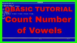 QBASIC Tutorial Counting number of Vowels in a String Using FunctionQBASIC for SLC  BASIC Tutorial  QBASIC Function  QBASIC Lessons  qbasic programming  qbasic programming for class 10  slc questions  SLC Computer questionDownload Code here : http://al.ly/LYhLfCreation & Entertainment Nepal