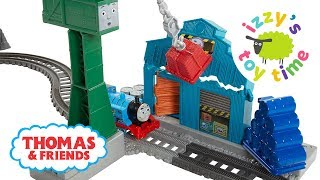 Thomas Train Trackmaster Demolition at the Docks! Thomas and Friends | Fun Toy Trains for Kids