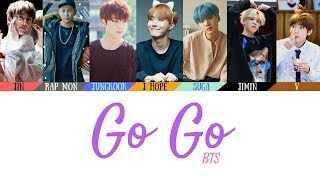Video BTS (방탄소년단) - Go Go (고민보다 Go) Lyrics [Color Coded Lyrics](Han/Rom/Eng)(Official Audio) MP3, 3GP, MP4, WEBM, AVI, FLV Januari 2019
