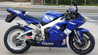10. Rodolfinho da Z- Testando Yamaha YZF-R1 2001.
