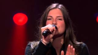 Maan sings 'The Power Of Love' - The Blind Auditions - The voice of Holland 2015