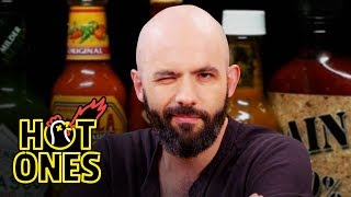 Video Binging with Babish Gets a Tattoo While Eating Spicy Wings   Hot Ones MP3, 3GP, MP4, WEBM, AVI, FLV Juli 2019