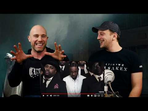 Kendrick Lamar - Humble. METALHEAD REACTION TO HIP HOP!!