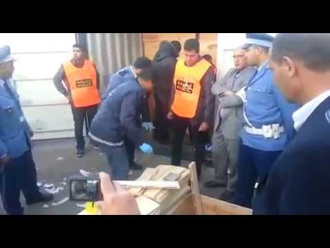 الجمارك تحبط عملية تهريب مخدر الشيرا بميناء البيضاء