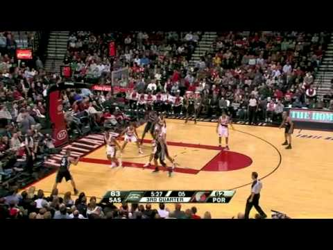 San Antonio Spurs 86 – Portland Trail Blazers 99