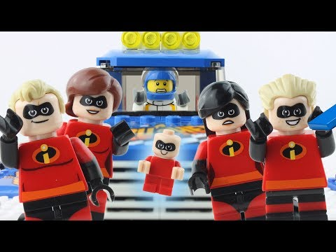 LEGO Incredibles STOP MOTION LEGO Incredibles Monster Truck Fail | Incredibles 2 | Billy Bricks